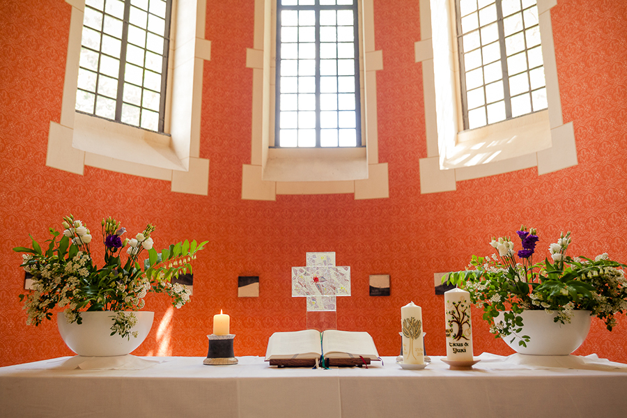 Hochzeit Kirche Zadel, Meissen
