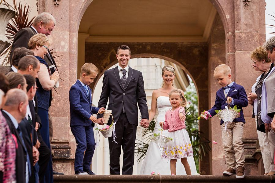Hochzeit im Schloss Lichtenwalde