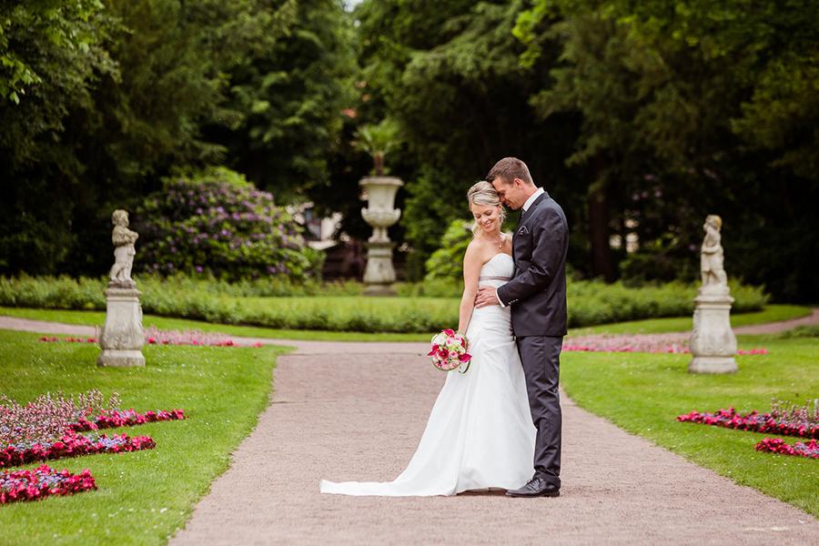 Brautpaar Schlossgarten Lichtenwalde