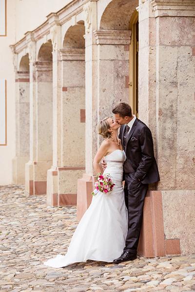 Brautpaar Schloss Lichtenwalde